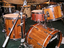 Phonic Rosewood 18, 12, 14 with 13 Brady snare